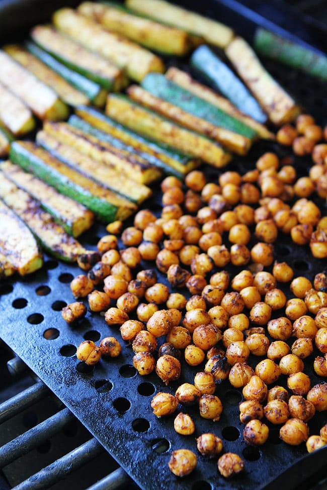 Grilled Zucchini Chickpea Taco Recipe