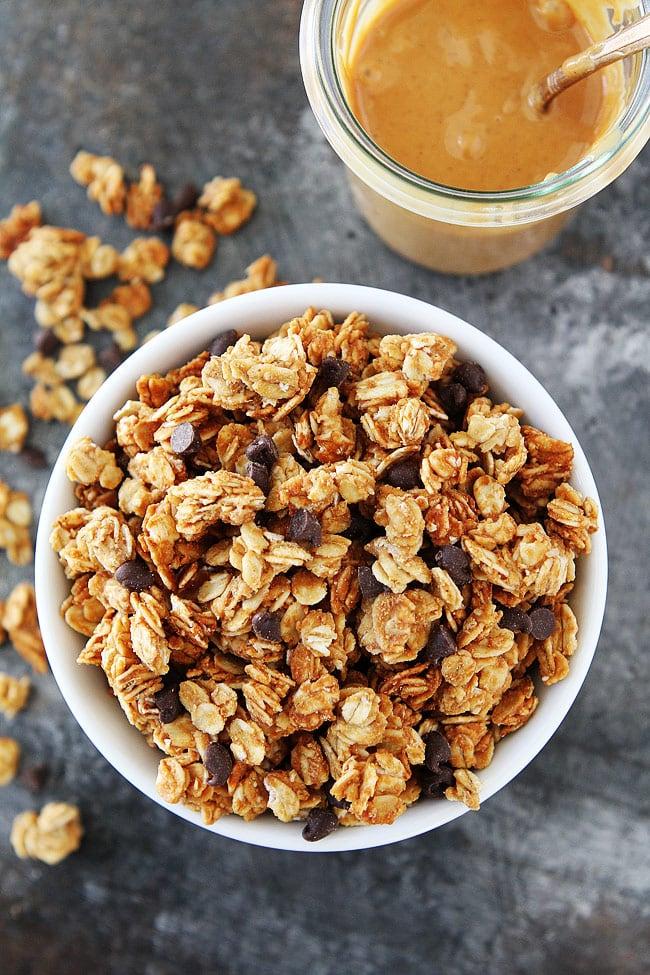 Homemade Peanut Butter Granola Recipe