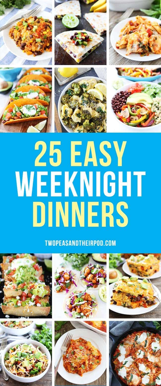 easy weeknight dinners two peas their pod