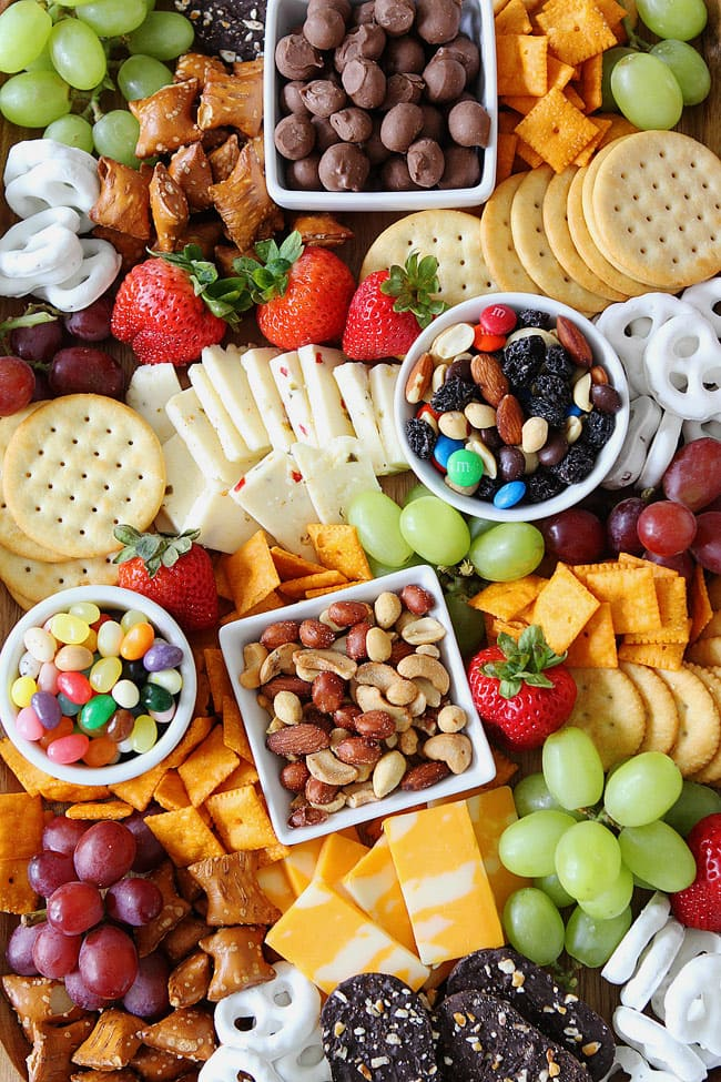 How to Make a Sweet and Salty Snack Board for Parties