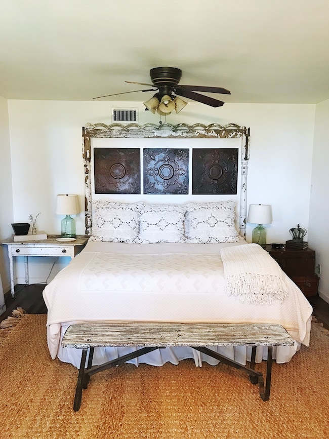 The Vintage Round Top master bedroom