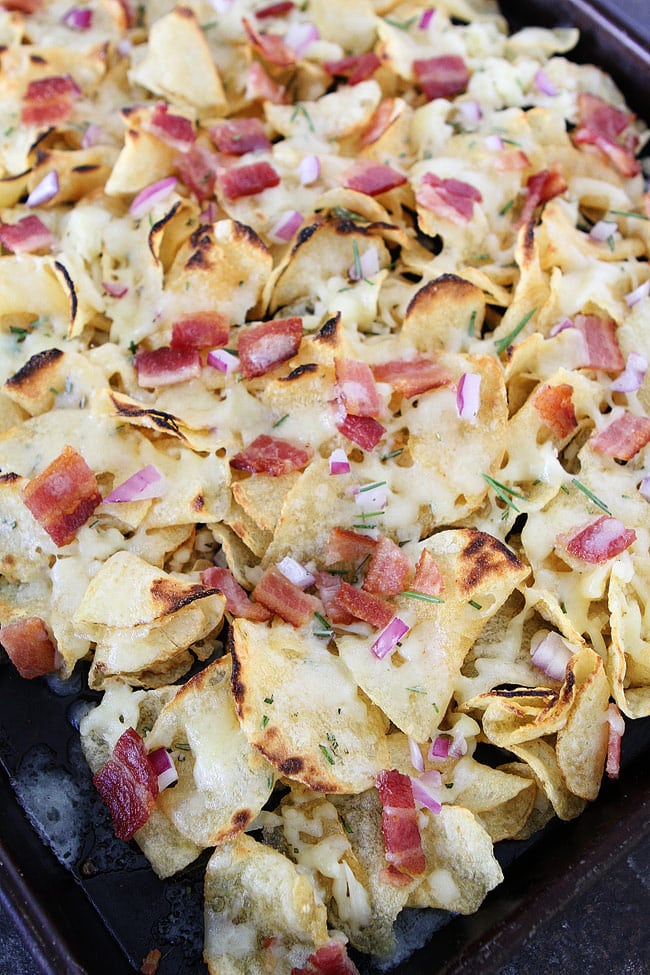 Kettle Chip Nachos are an easy appetizer for parties and game day!