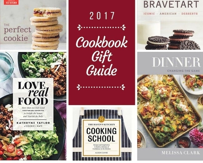 Cookbook Gift Guide-the best cookbooks of 2017! You will want them all! #cookbooks