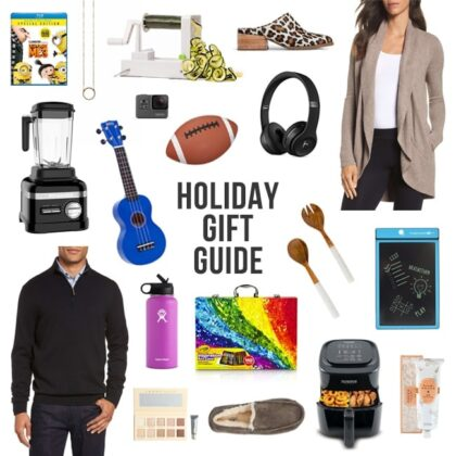 Holiday Gift Guide-gift ideas for him, her, and kids!
