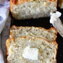 Buttermilk Banana Bread Recipe