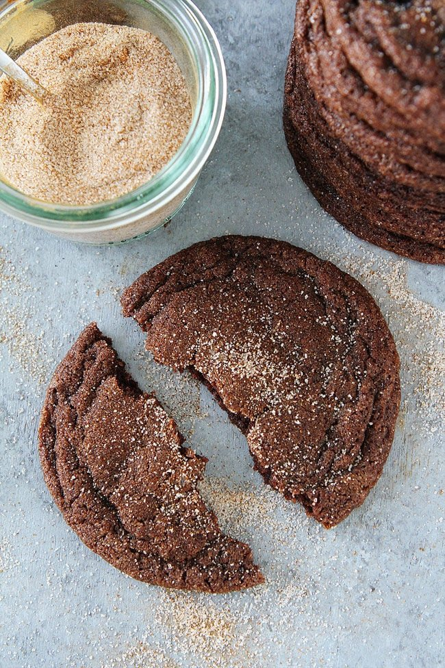 Chocolate Snickerdoodle Cookie Recipe