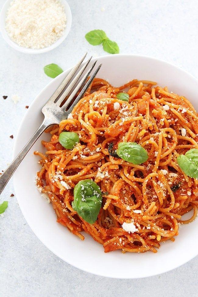 pasta pomodoro recipe two peas their pod