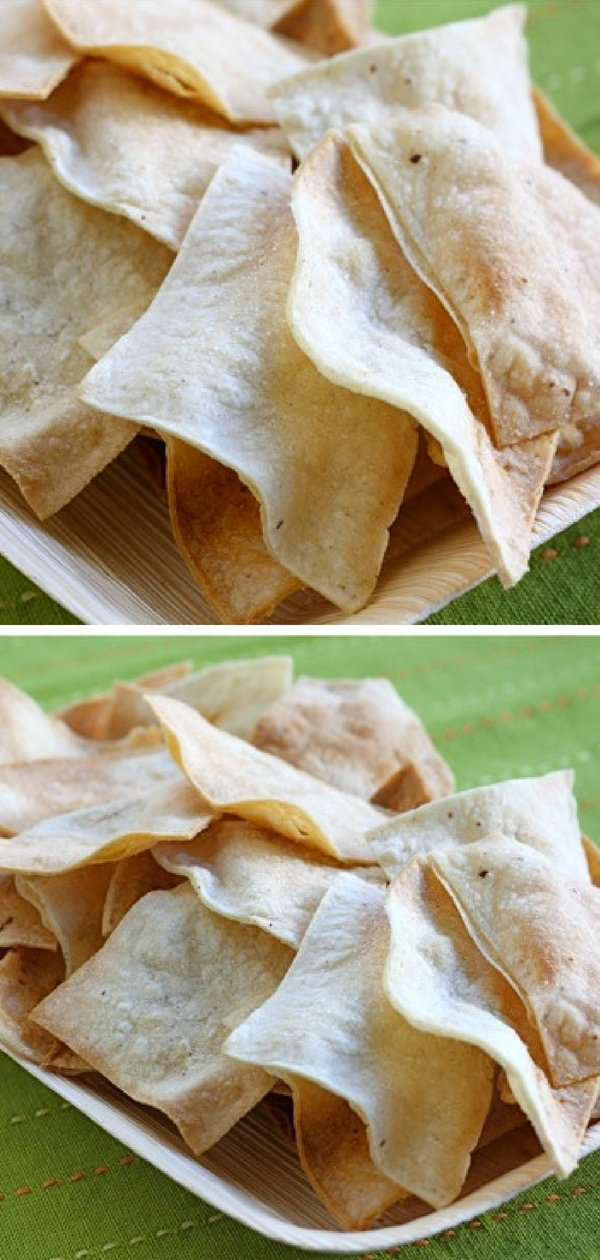 Tortilla chips are easy to make at home and so much better than store bought chips. These crisp and salty corn tortilla chips are baked and not fried, but you will never know. They are SO good!