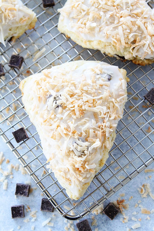 Coconut Scone Recipe