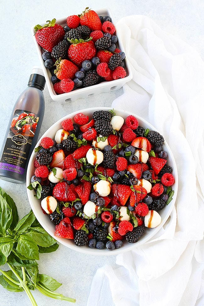 Berry Caprese Salad Recipe