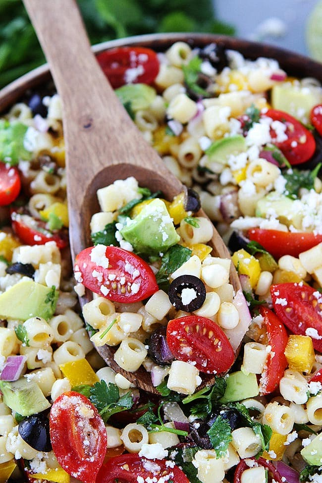 Pasta Salad in bowl