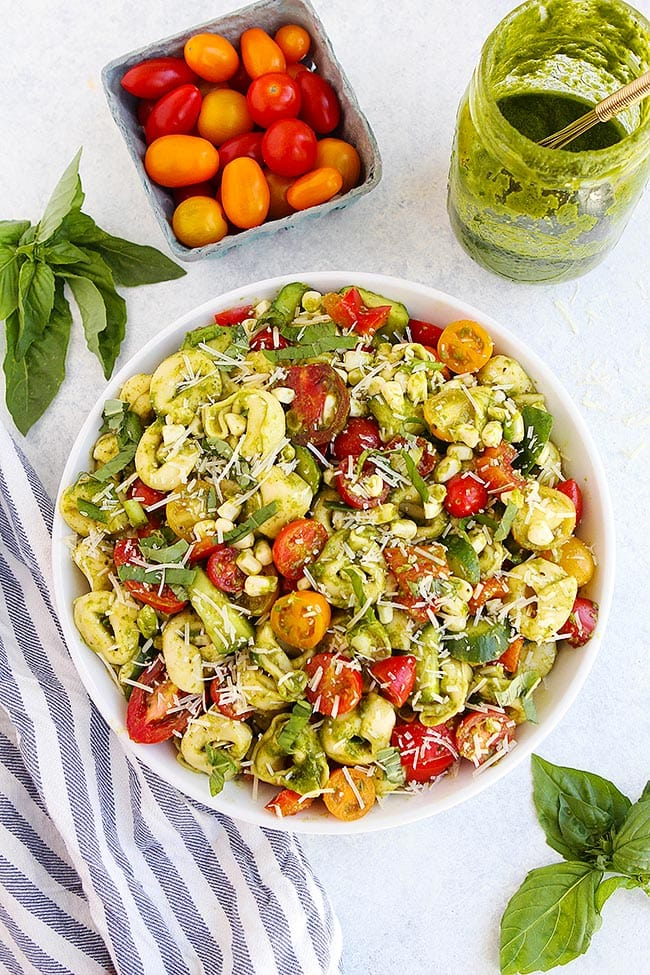 Summer Tortellini Salad Recipe