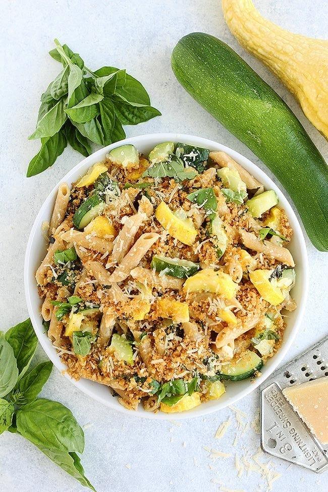 Easy Zucchini Parmesan Pasta Recipe