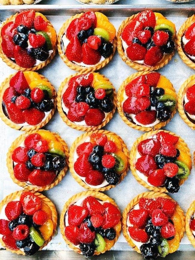 fruit tarts from the best restaurants in Salt Lake City