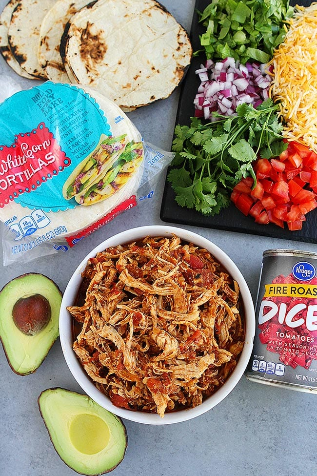 Easy Chicken Tacos Recipe