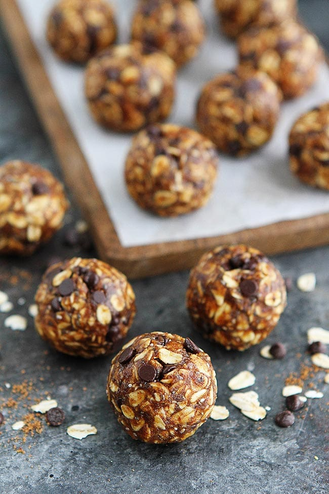 Easy Pumpkin Energy Balls
