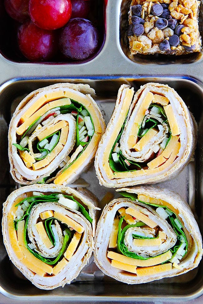 Easy Turkey Pinwheels