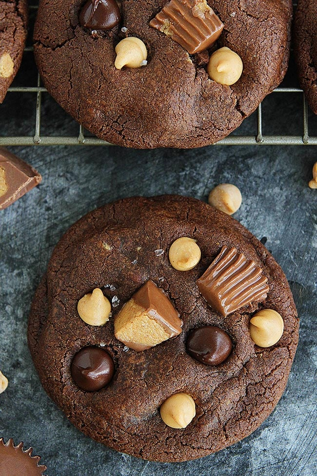 How to make Chocolate Peanut Butter Cookies