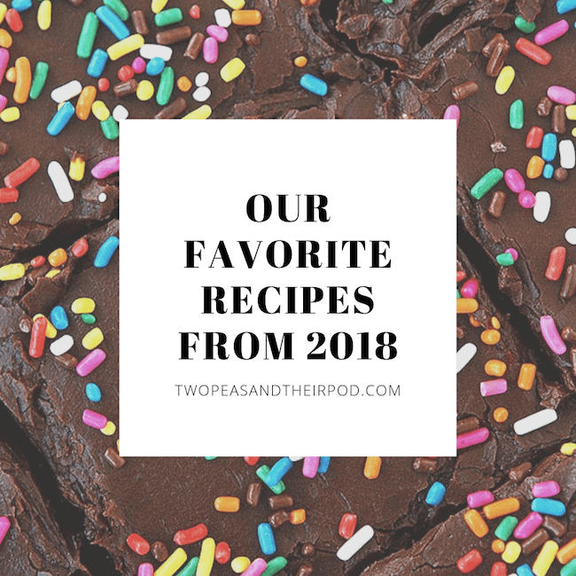 Favorite Recipes from 2018