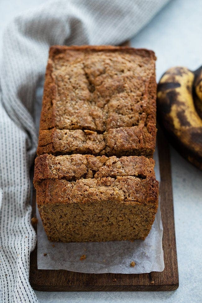Healthy Banana Bread Recipe Two Peas Their Pod