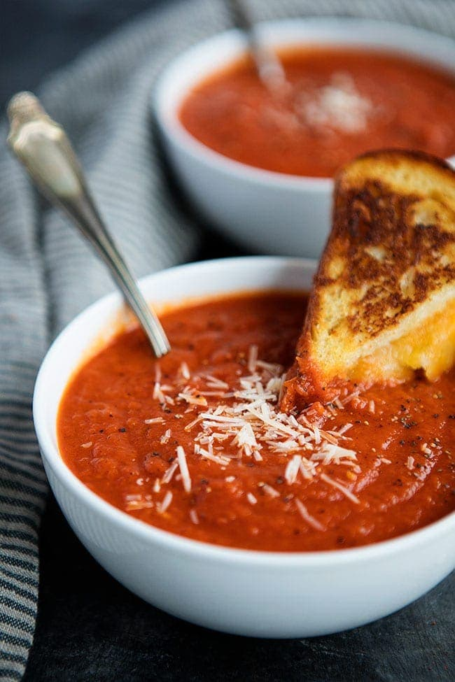 Easy Smoky Tomato Soup Recipe