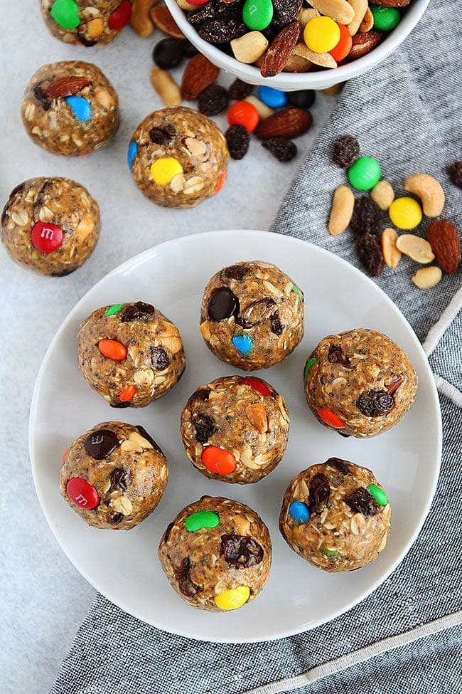 Trail Mix Energy Balls Recipe