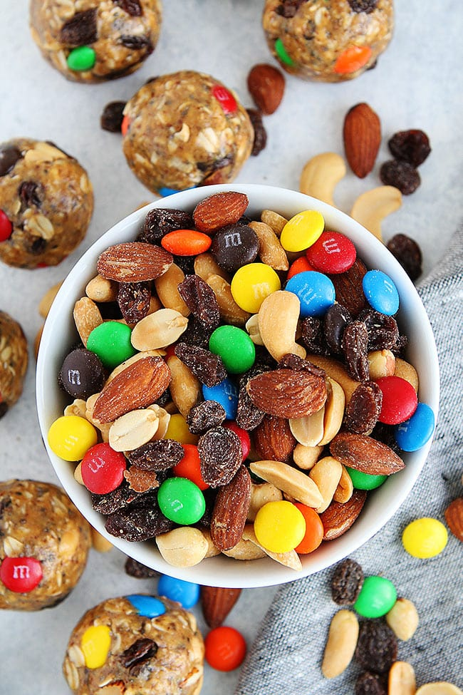 Easy Trail Mix Energy Balls Recipe