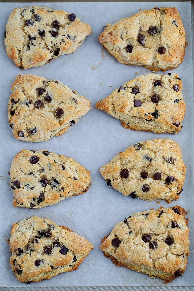 How to Make Chocolate Chip Scones