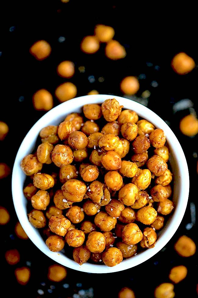 Easy Roasted Chickpeas Recipe