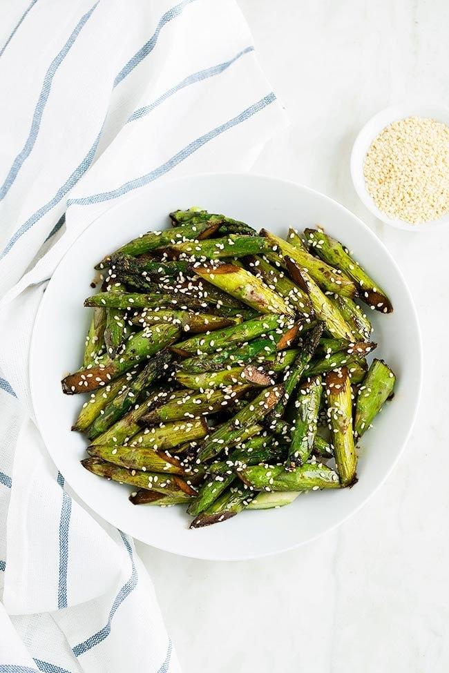 Sesame Asparagus Recipe