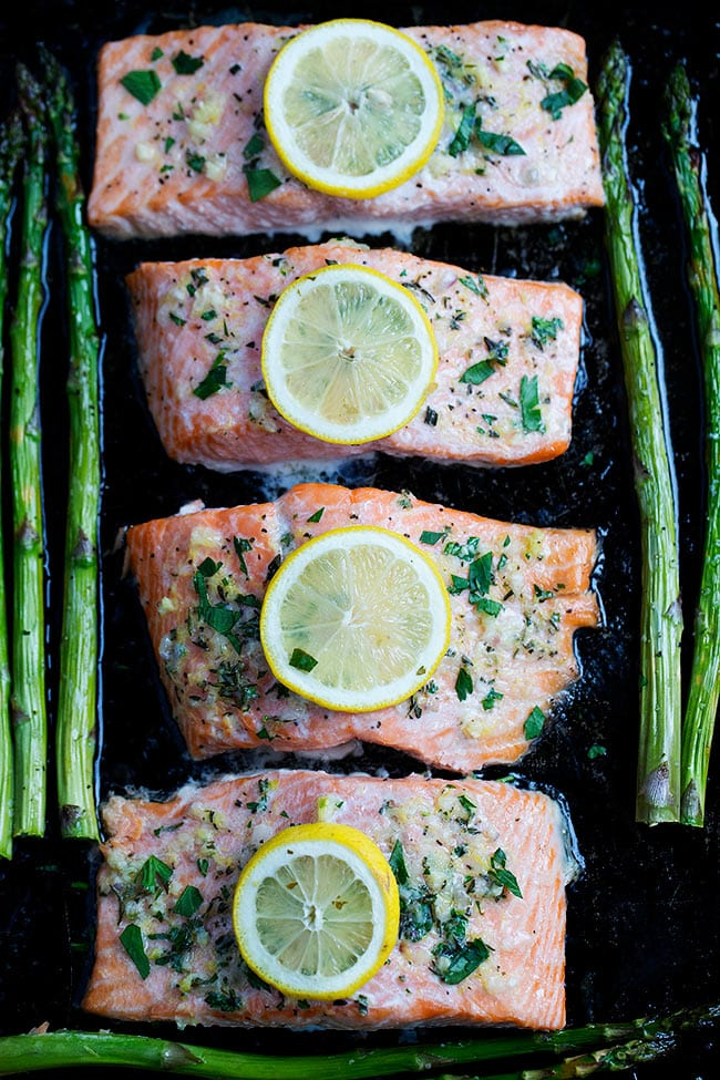 Easy Sheet Pan Baked Salmon