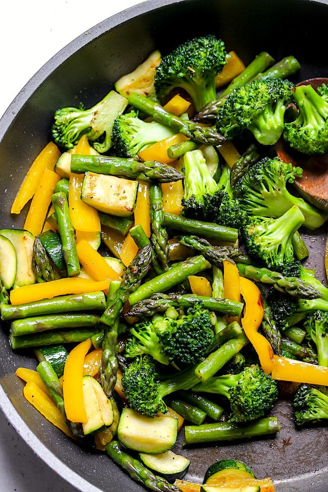 Pasta Primavera Vegetables