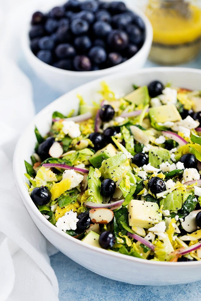 Blueberry Brussels Sprout Salad Recipe
