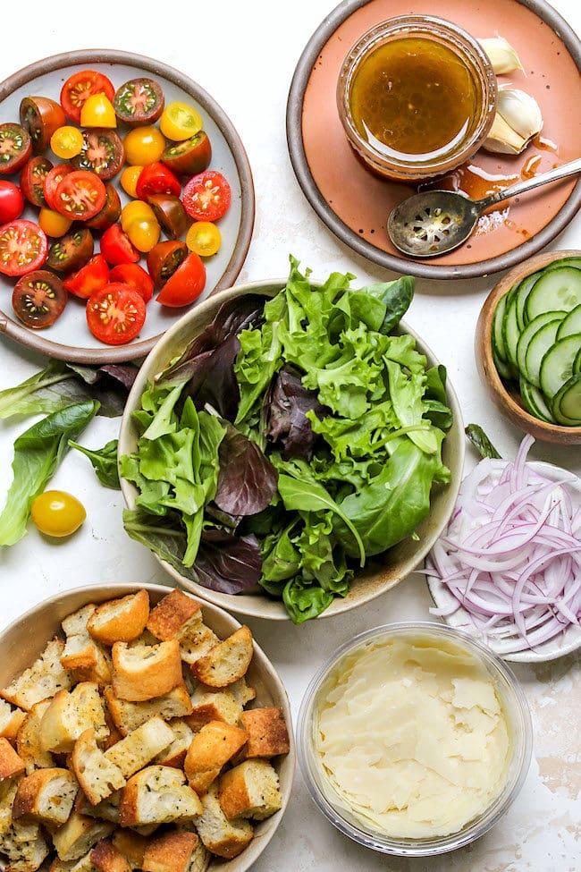 Easy Green Salad Two Peas Their Pod
