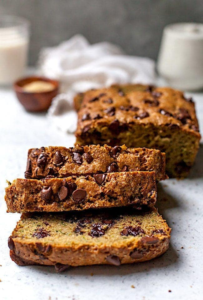 Chocolate Chip Zucchini Bread Two Peas Their Pod