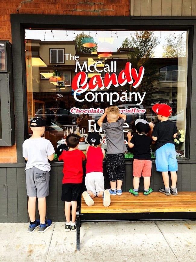 McCall Idaho Candy Company