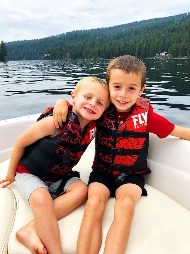 McCall Idaho boat