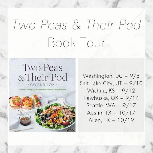 Two Peas & Their Pod Cookbook Tour