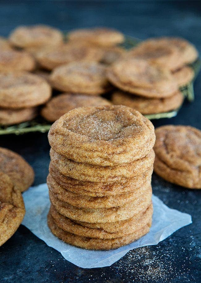 How to make Pumpkin Snickerdoodles
