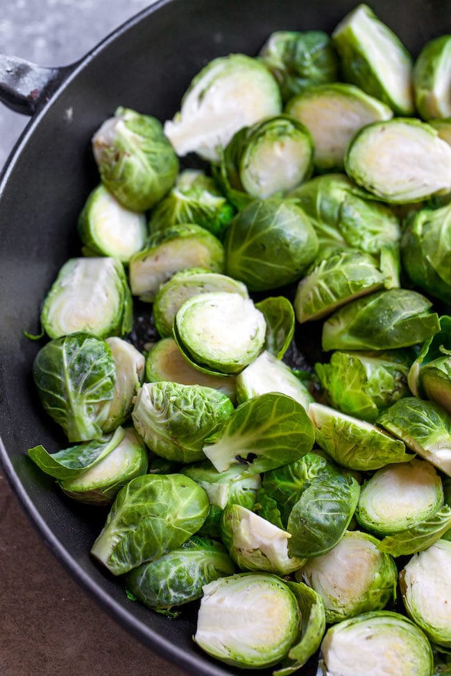 Sautéed Brussels Sprouts Recipe