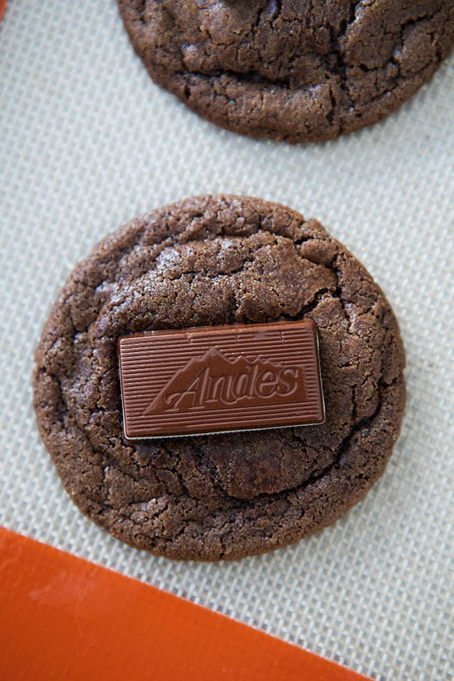 How to Make Andes Mint Cookies