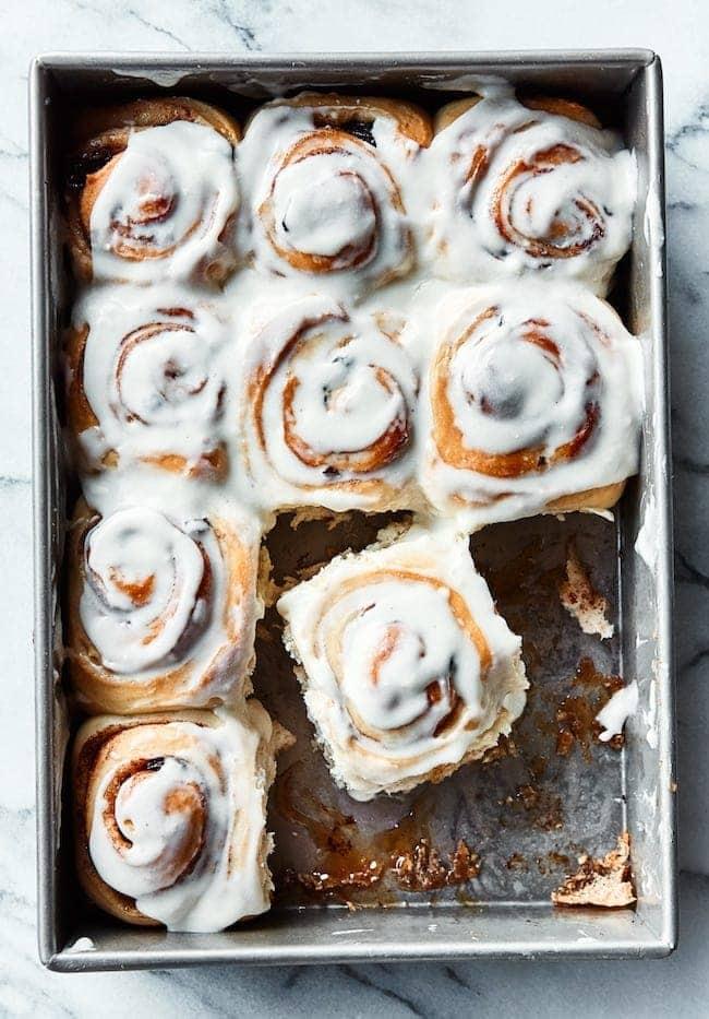 Recipe for Cinnamon Rolls