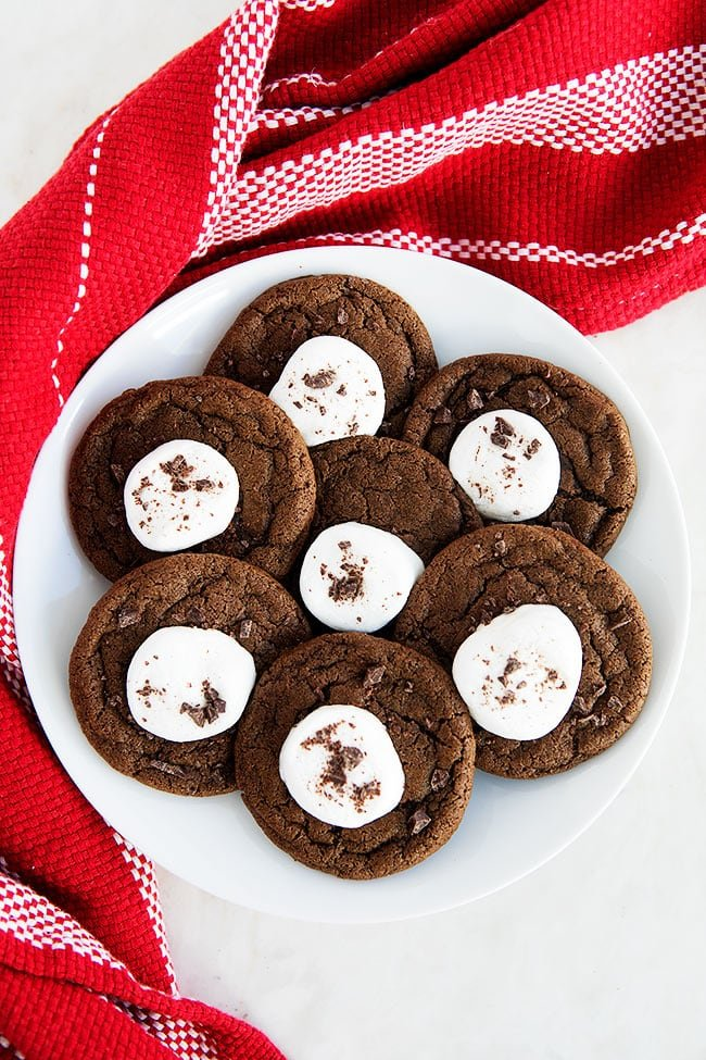 Easy Hot Cocoa Cookies