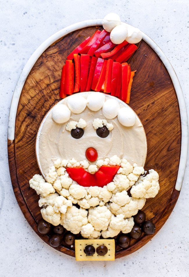 Santa Snack Board for parties