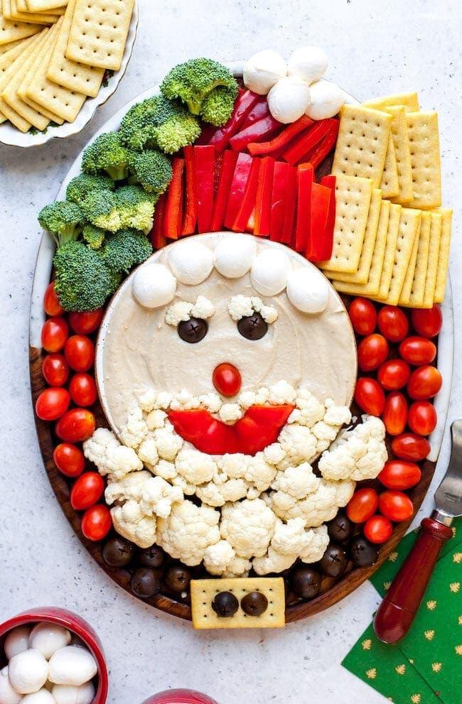 Santa Snack Board