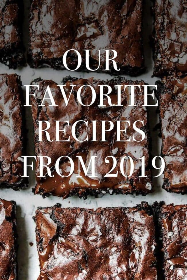 Favorite Recipes from 2019