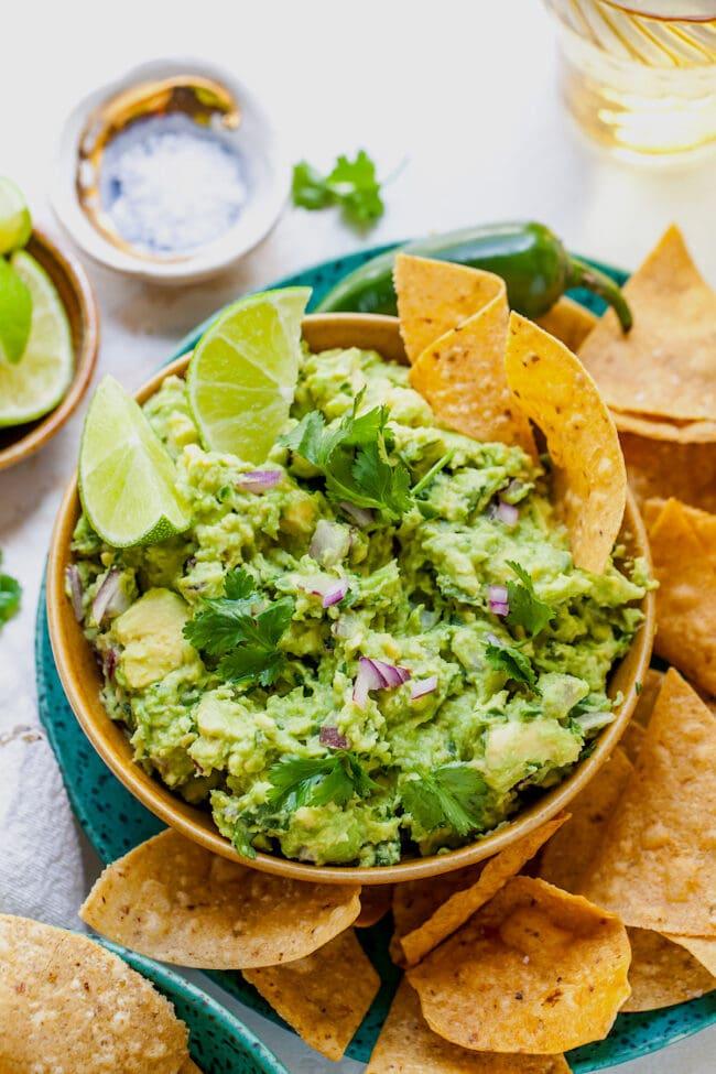 best guacamole in a bowl