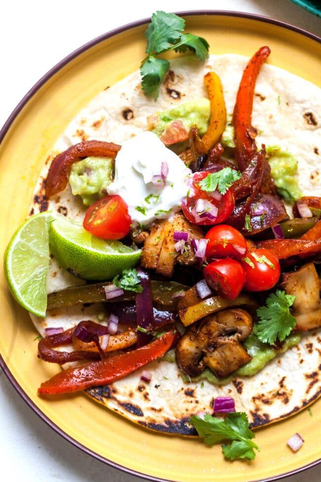 How to Make Vegetarian Fajitas