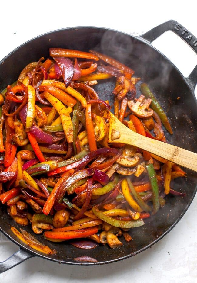 Vegetarian Fajitas Recipe