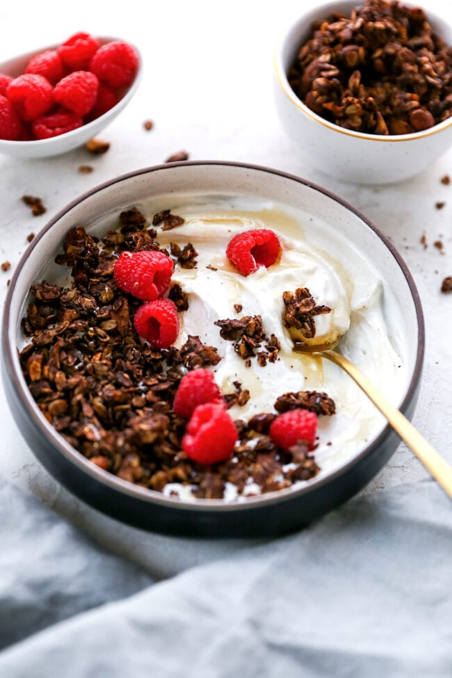 Easy Chocolate Espresso Granola